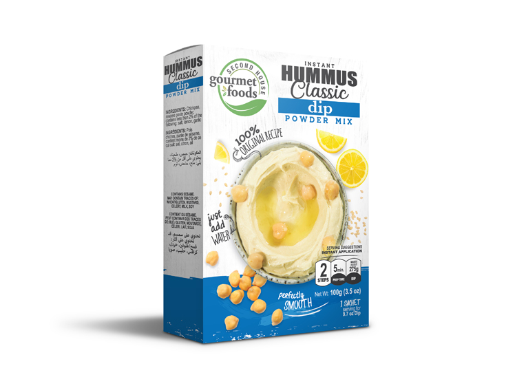 Instant Hummus Powder Mix Second House Productssecond